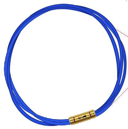 磁気アクセサリー, 磁気ネックレス 3-4 SEV 3G 54cm