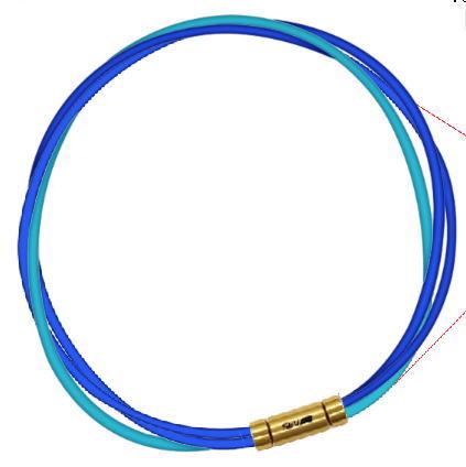 セブ SEV スポーツネックレス ルーパータイプ3G 納期2週間 54cm ブルー2本/ライトブルー