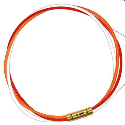 セブ SEV スポーツネックレス ルーパータイプ3G 納期2週間 54cm オレンジ/レッド/ホワイト