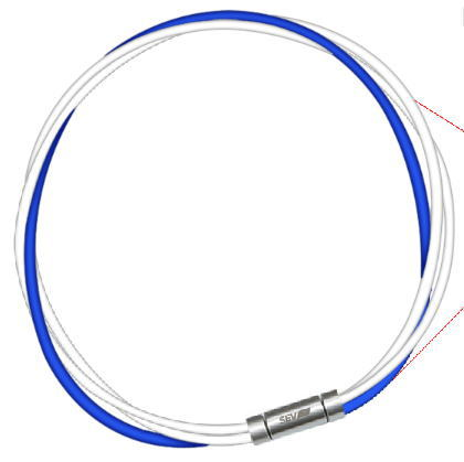 磁気アクセサリー, 磁気ネックレス  SEV 3M 2-3 2