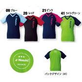 ニッタク Nittaku 卓球ウェア VNT-III3 Vネック Tシャツ-III 半袖 男女兼用 NX-2073