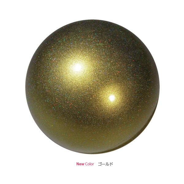 SASAKI ササキ 新体操 オーロラボール M-207AU ゴールドGD (財)日本体操協会検定品 F.I.G.国際体操連盟認定品