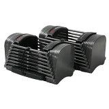 【取寄品・納期未定】PowerBlock パワーブロック スポーツ Sport50 SP50 2個セット 10-50ポンド 最大約23kg/片方