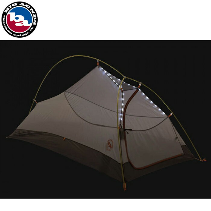 BIG AGNES FLY CREEK UL1 mtnGLO Silver/Gray TFLY1MG14 ビッグアグネス フライクリーク 1人用 マウンテングロー アウトドア キャンプ 登山 バックパッキング テント