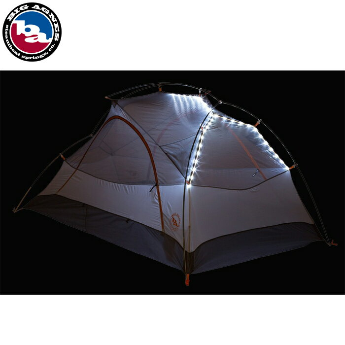 BIG AGNES COPPER SPUR UL2 mtnGLO Silver/Gray TCS2MG15 ビッグアグネス コッパースプール 2人用 マウンテングロー アウトドア キャンプ 登山 バックパッキング テント