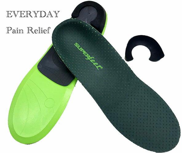 スーパーフィート インソール SUPERFEET EVERYDAY Pain Relief エブリデイ ペインリリーフ 中敷画像