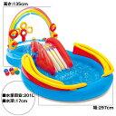 【エントリー&買いまわりでP最大10倍】インテックス レインボーリングプレーセンタープール INTEX ME-7019(57453NP)