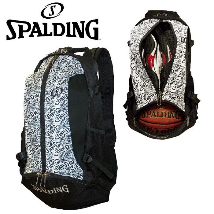 SPALDING CAGER(ケイジャー) クレイジーロゴ crazyLogo バスケット専用バックパック 40-007CL スポルディング