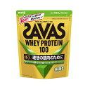 ザバス SAVAS ホエイプロテイン100 抹茶風味1,050g(約50食分) プロテイン CZ7465