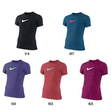 ナイキ NIKE ジュニアスポーツウェア Tシャツ ナイキ NIKE YTH ガールズ レジェンド S/S トップ 392389 2017SS