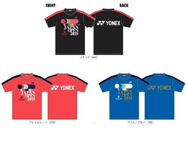 YONEX ダイハツ ヨネックスジャパンオープン2019 大会記念Tシャツ YOB19300 ユニプラクティスTシャツ 男女兼用