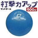 【8個以上購入で送料無料】強い打球を打つ練習に! ダイトベースボール サンドボール 500g 野球 バッティングトレーニング用ボール ss-50