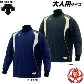 冬場の試合でユニフォームの下にも着用できます!デサント ウィンドシャツ 長袖 シャカシャカアンダーシャツ 野球 高校野球対応 pj-251