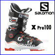 【あす楽対応可】◎2016サロモン スキーブーツ X PRO 100 White/Black/Orange スキー靴【即納OK】 SALOMON エックスプロ L37815300_ ●15-16