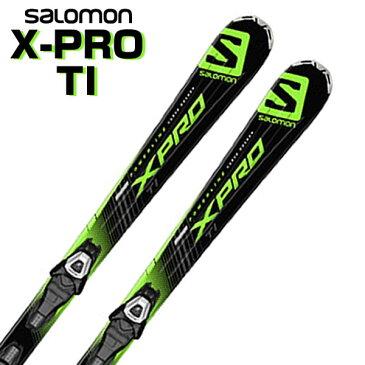 サロモン ロッカースキー 162cm X-PRO TI+LITHIUM 10 L80 板+ビンディング 2点セット 【即納OK】SALOMON L37786700 ●15-16