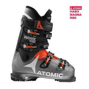 【残り25.5cmのみ】アトミック ATOMIC スキーブーツ HAWX MAGNA R90 Orange/Black  スキー靴【即納OK】 ATMIC AE5015180_  ●16-17 メンズ