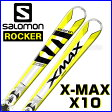 【あす楽対応可】◎2017サロモン ロッカースキー X-MAX X10+XT12 板+ビンディング 2点セット 162cm 【即納OK】SALOMON L39154600 ●16-17