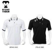 ミツワタイガーポロシャツ半袖PLMTKS-074REVOLTIGERトレーニングウェア