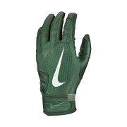 ナイキバッティング手袋N100131-326バッティンググローブ両手用打撃用ハラチエッジグリーン