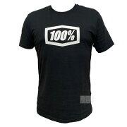 100%(ワンハンドレッド)半袖Tシャツ32016-001トレーニング野球ブラックアクト