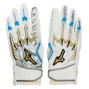 バッティング手袋ミズノプロ両手用左右非対称モデルバッティンググローブバッティング手袋打者用手袋オリジナル大人一般