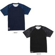 マジェスティックTシャツ半袖シャツXM01-MJ-0S06クールベースカモグランSSネイビーブラック野球ソフトボール大人一般