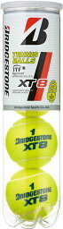BridgeStone(ブリヂストン)テニスボール【XT8】エックスティエイト(4個入り×15筒、5ダースセット)【BBA4XT】BBA4XT