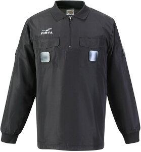 FINTA(フィンタ)サッカーウインドウェアレフリーピステジャケットFT5147ブラック