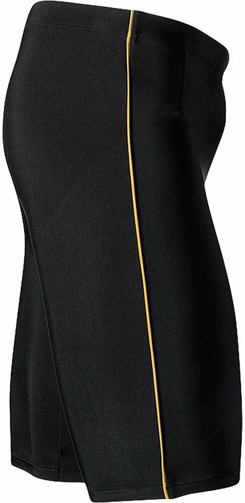 Ellesse(エレッセ)水泳水球競技水着(メンズフィットネス用水着)メンズボックス4分丈EN87190ブラックコ