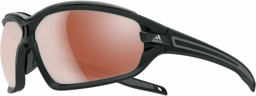 adidas(アディダス)陸上トラックゴーグル・サングラスランニング サングラス evil eye evo pro Lサイズ マットブラックグレイA193016051