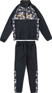 KELME(ケレメ)フットサルトレーニングウェアJrウォームアップジャケット ジュニアKJ18F168ブラック