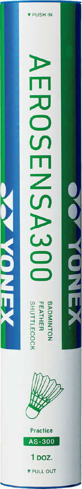 Yonex(ヨネックス)バドミントンシャトルコック水鳥シャトル エアロセンサ300(1筒) AS‐300AS300