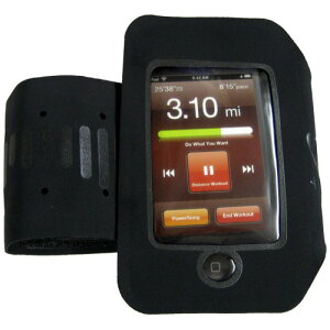 NIKE(ナイキ) ランニングアクセサリー NIKE+ SPORT アームバンド for iPhone 3G ブラック AC1...