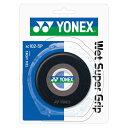 YONEX (ヨネックス) ラケットスポーツ グリップテープ ウエットスーパーグリツプ ブラック AC102-5P