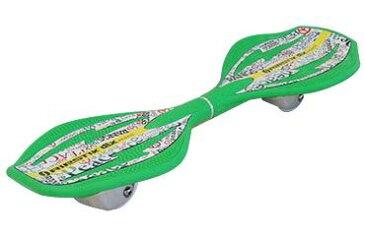 ● 【送料無料】 ホイール エクストリーム スケートボード リップスティック デラックスミニ ピースグリーン ジュニア ピースグリーン RIPSTICK DLXMINI GR