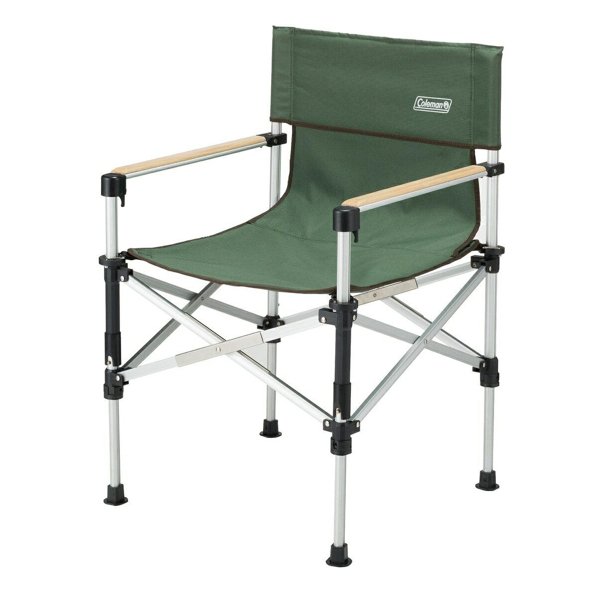 ● コールマン(COLEMAN) ツーウェイキャプテンチェア (グリーン) キャンプ用品 ファミリーチェア 椅子 グリーン 2000031281