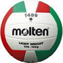 ● molten (モルテン) EVAバレーボール 5号球 バレーボール 5号ボール 5号球 ホワイト×レッド×グリーン V5C1400-L