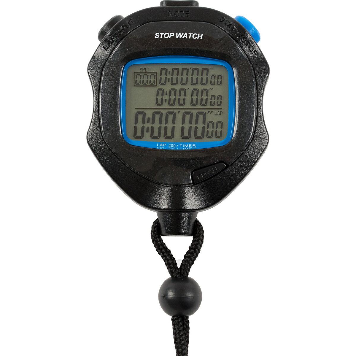 スポーツアクセサリー 時計 18 STOP WACTH ブラック TS-S114-BK