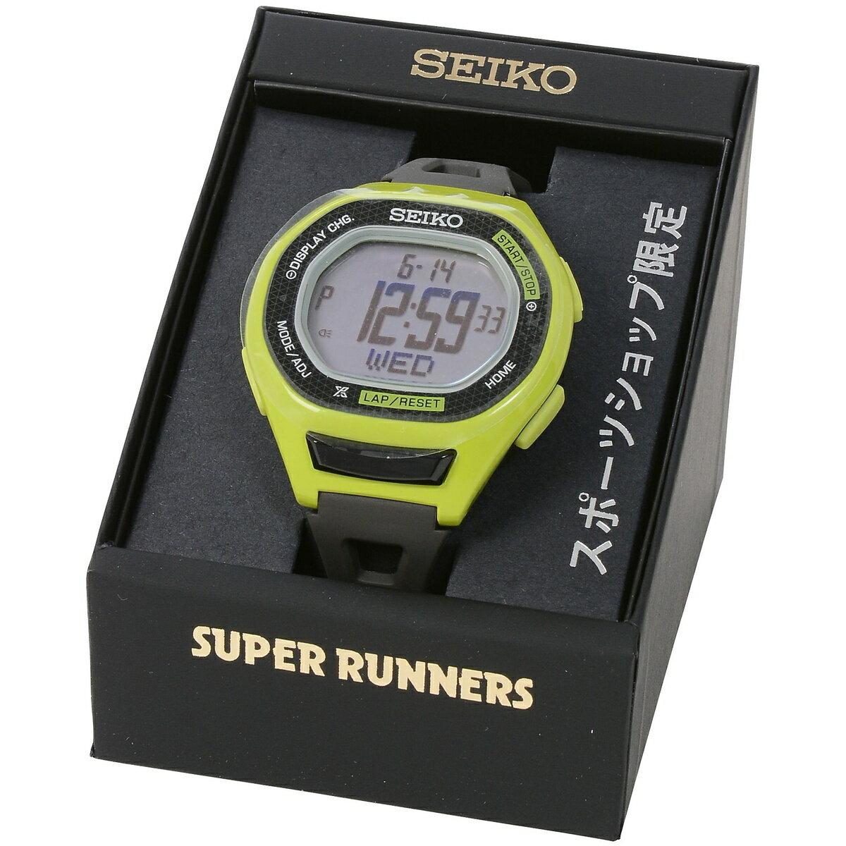 SEIKO(セイコー) スポーツアクセサリー スポーツ SEIKO スーパーランナーズ ラージ ライムグリーン SBEG011