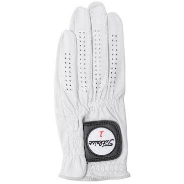 Titleist (タイトリスト) ゴルフ メンズゴルフグローブ プロフェッショナル WT メンズ 25 WHT TG77WT-25