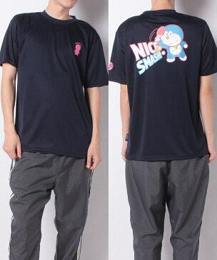 s.a.gear (エスエーギア) ラケットスポーツ アパレル ドラえもん卓球半袖Tシャツ ネイビー SA-S20-004-008