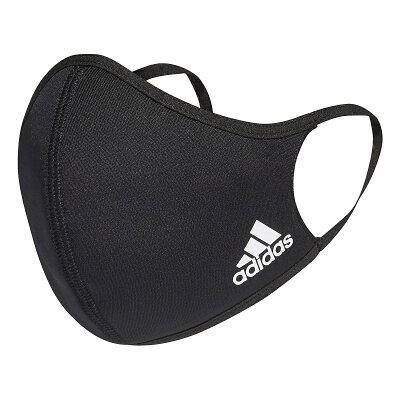adidas (アディダス) フェイスカバー 3枚組(M/L) / Face Covers M/L 3-Pack スポーツアクセサリー 雑貨 NS ブラック KOH81 H08837・・・ 画像1