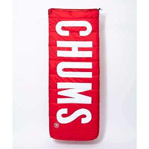 CHUMS(チャムス) CHUMS LOGO SLEEPING BAG アウトドア トレッキング アウトドア トレッキングその他 (非飲食料品) FREE RED CH09-1147-R001