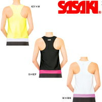 【SASAKI/ササキ】体操・新体操トップスYバックロングトップ#7048