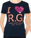 **【SASAKI/ササキ】【538】体操・新体操I LOVE R.G.レディースTシャツ