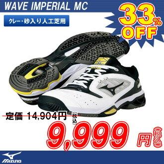美津濃 MIZUNO 球鞋鞋 Web 帝國 MC 波帝國 MC (61 GB 142009) (砂與粘土法院網球網球網球壘球網球網球鞋鞋工業草皮)