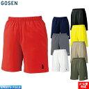 ソフトテニス バドミントン ウェア ゴーセン GOSEN ハーフパンツ メンズ テニス 硬式軟式 バドミントン ...