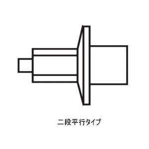 MIZUNO(ミズノ) 陸上スパイクピン (オールウェザー・トラック用) 二段平行タイプ 8ZA301