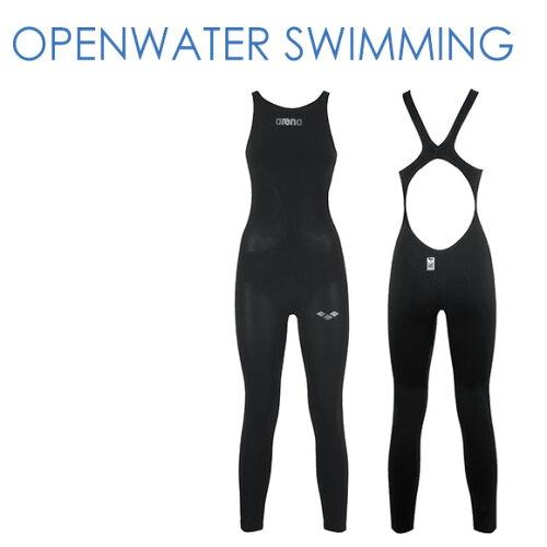 オープンウォータースイミング FAR-6507M アリーナ 競泳水着 レディース パワースキン カーボン Fi...