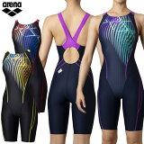 アリーナ arena 競泳水着 Fina承認 レディース ARN-0060W セイフリーバックスパッツ 着やストラップ アクアレーシング 着やすい 水泳 スイム